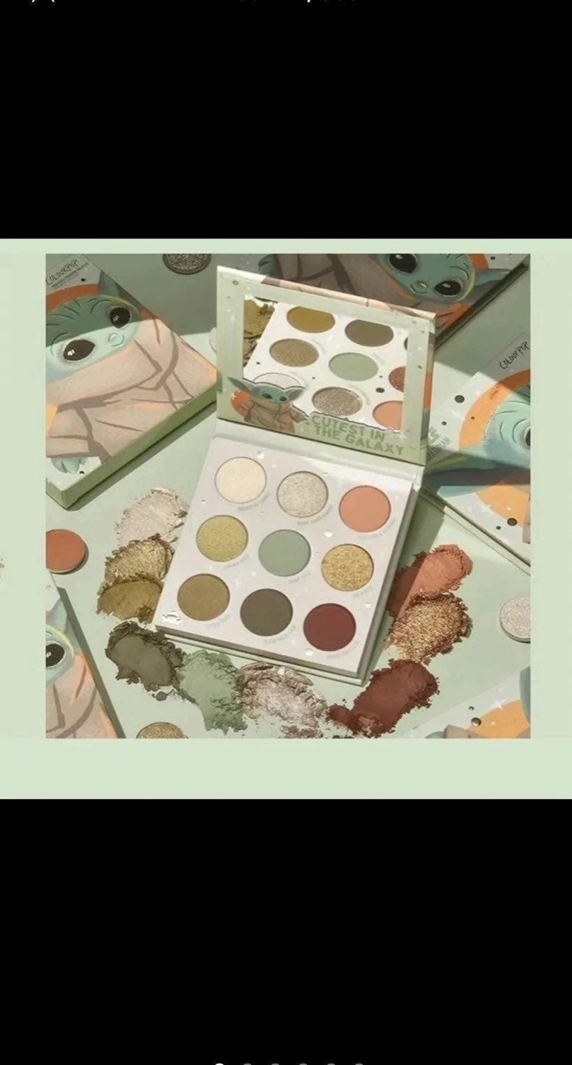 ColourPop The Child Baby Yoda Eyeshadow