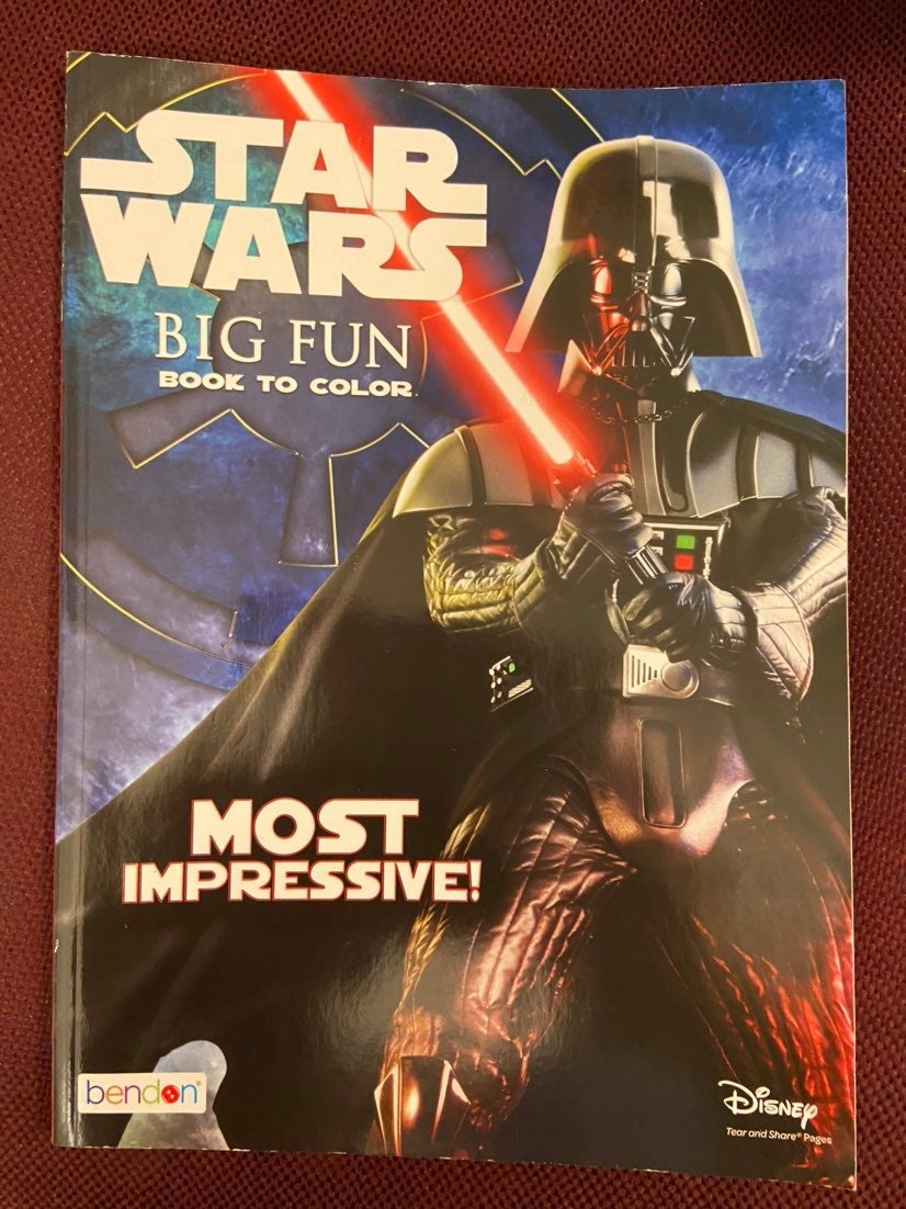 Star Wars coloring book new
