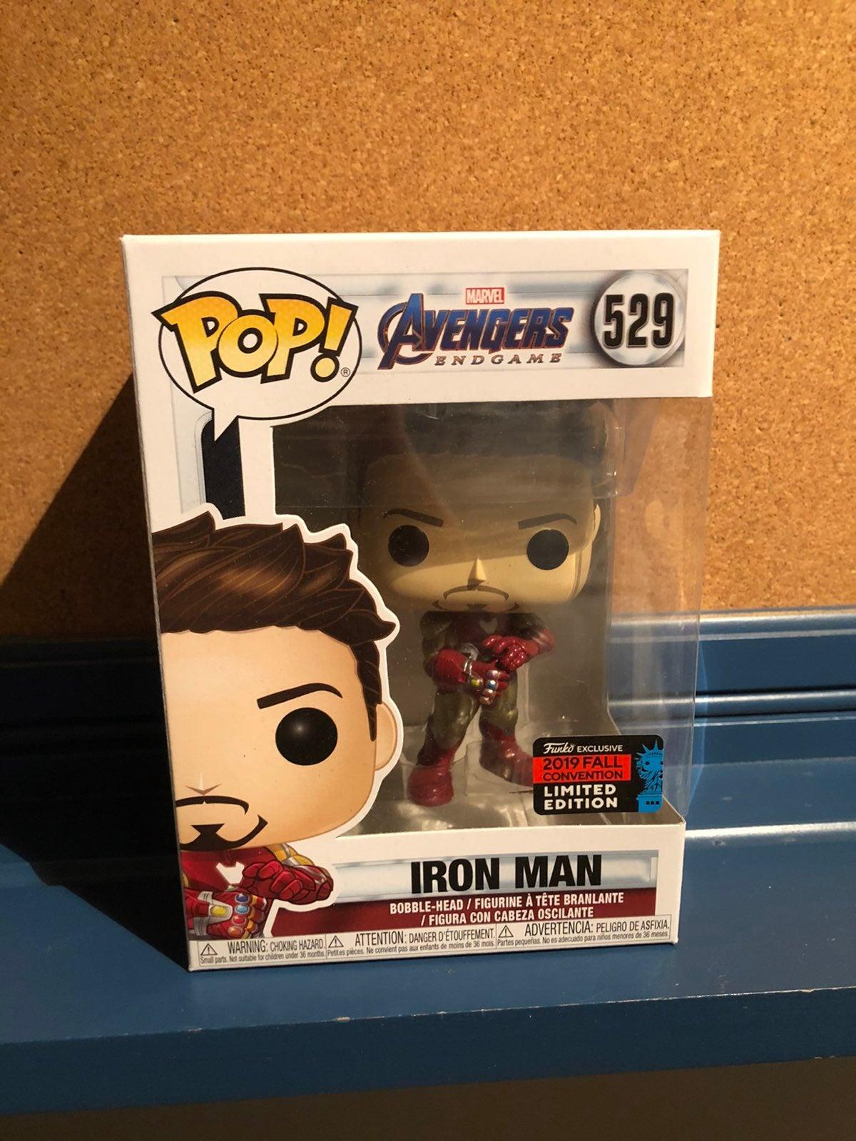 Iron Man Avengers Endgame NYCC Funko Pop