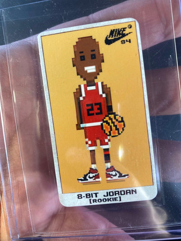 1984 Michael Jordan 8-Bit Rookie