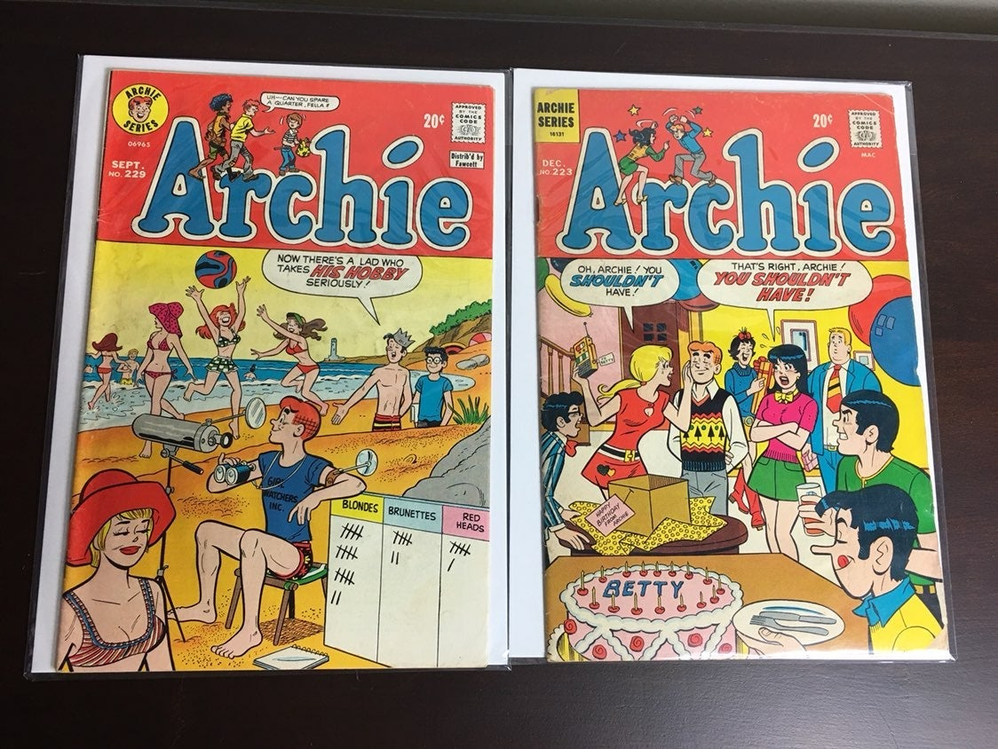 Lot of 2 Archie Comics
