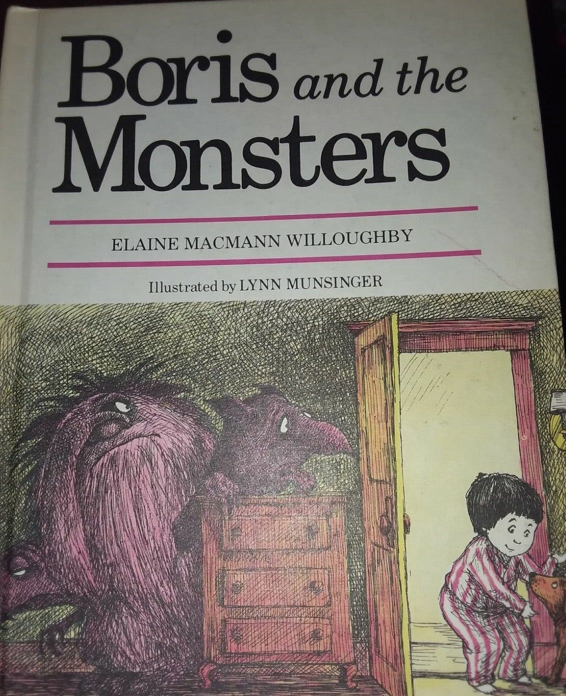 """""""Boris and the Monsters"""" book"""