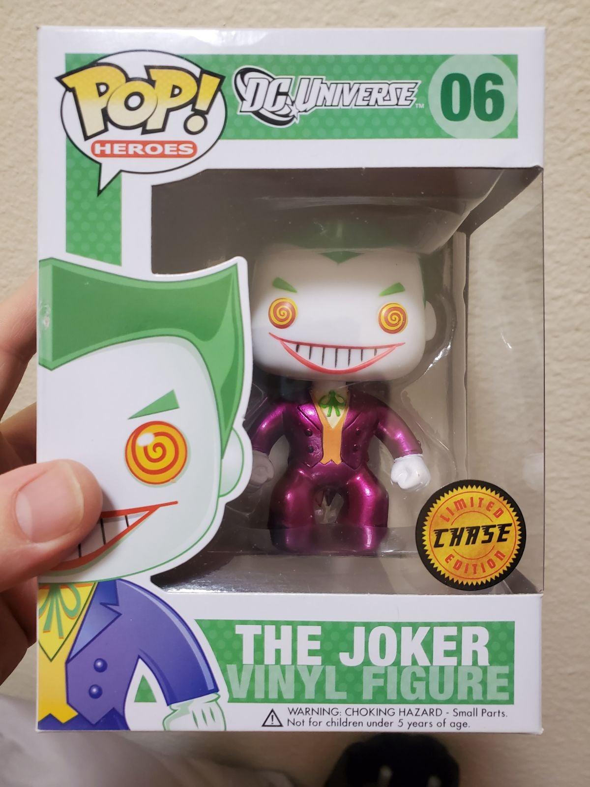 Funko Pop Metallic Joker Chase Pink Jack