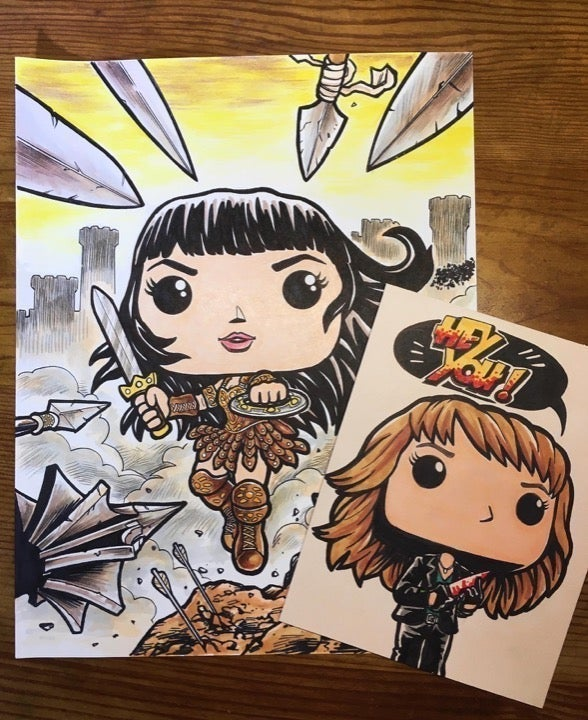 Funko Pop Art Xena: Warrior Princess