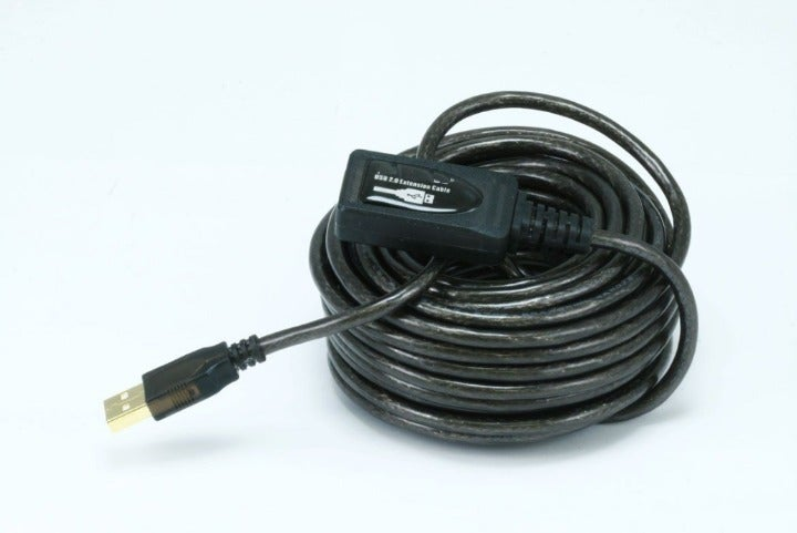 32ft USB 2.0 A Male to A Female Cable