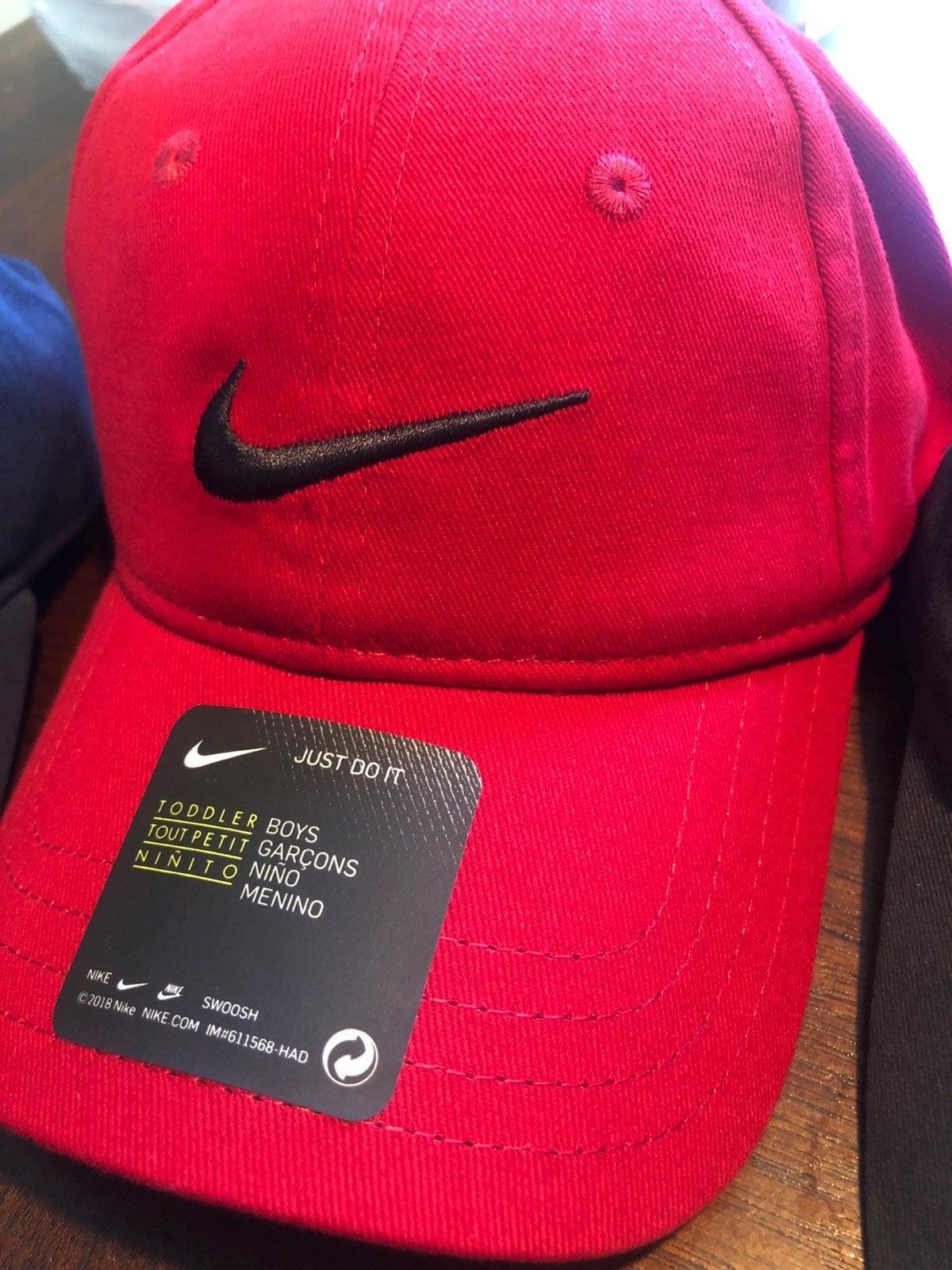 Nike Hat kids red