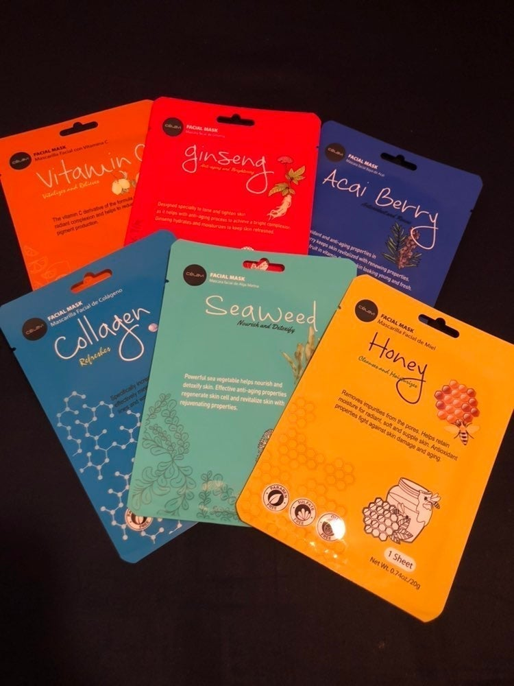 Facial Sheet Masks 6