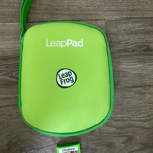 Leap pad case and game