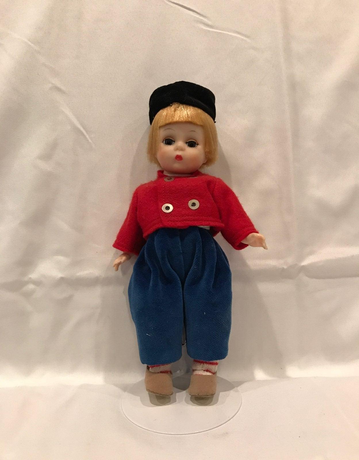 Rare Dutch Boy Madame Alexander Doll