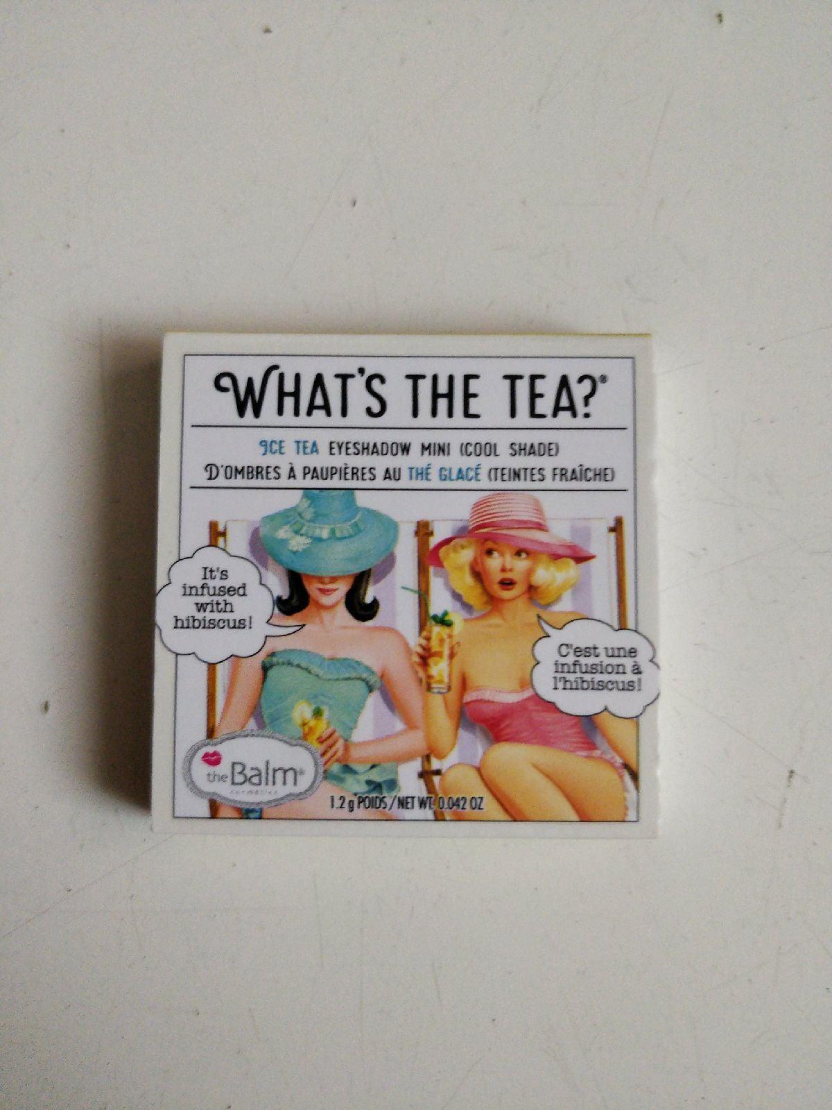 The balm ice tea eyeshadow