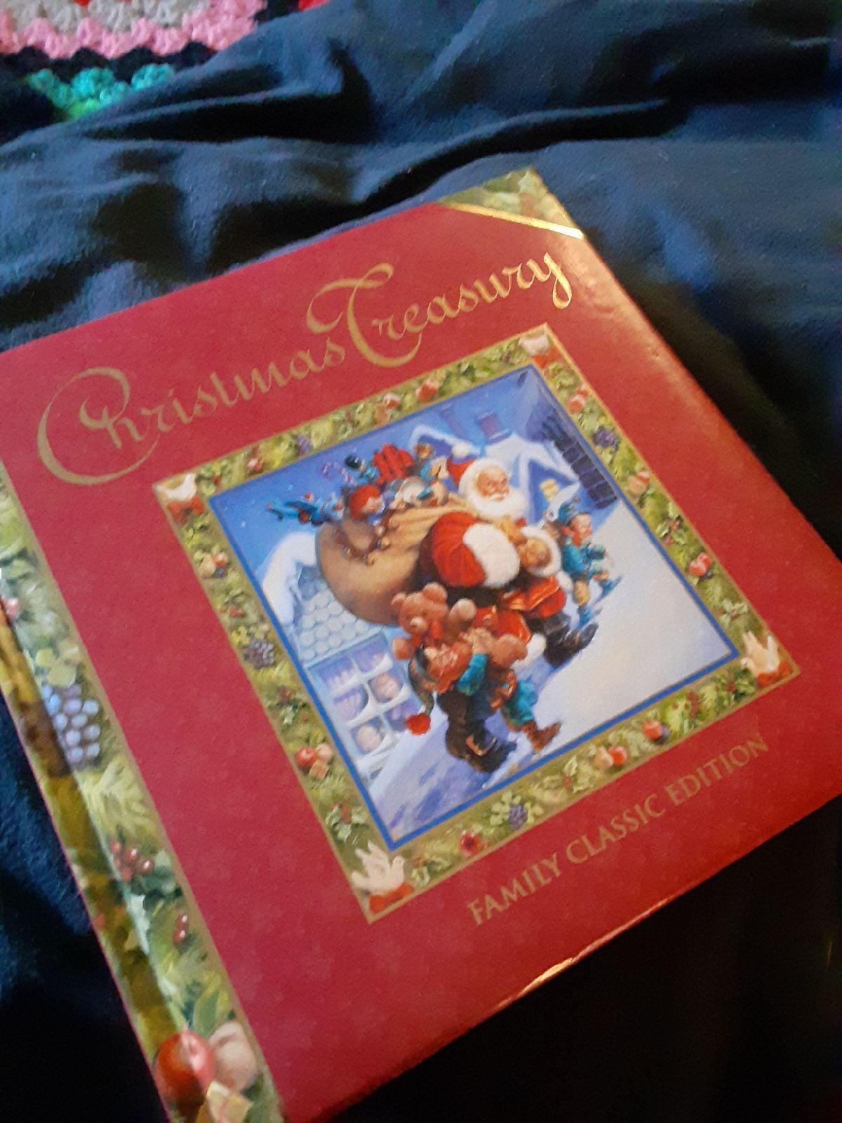 Christmas treasury hardcover book