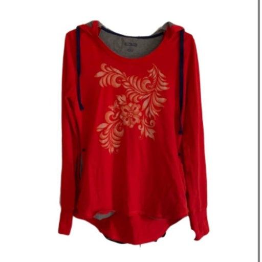 Crazy Shirts Red Hawaiian Hoodie