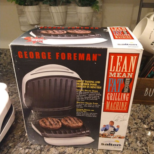 George Foreman Grill 2 plate