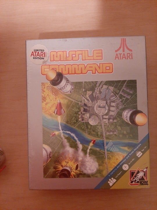 Missile Command board game
