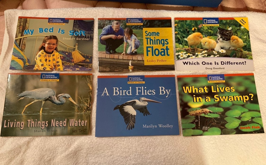 National Geographic kids books lot 6
