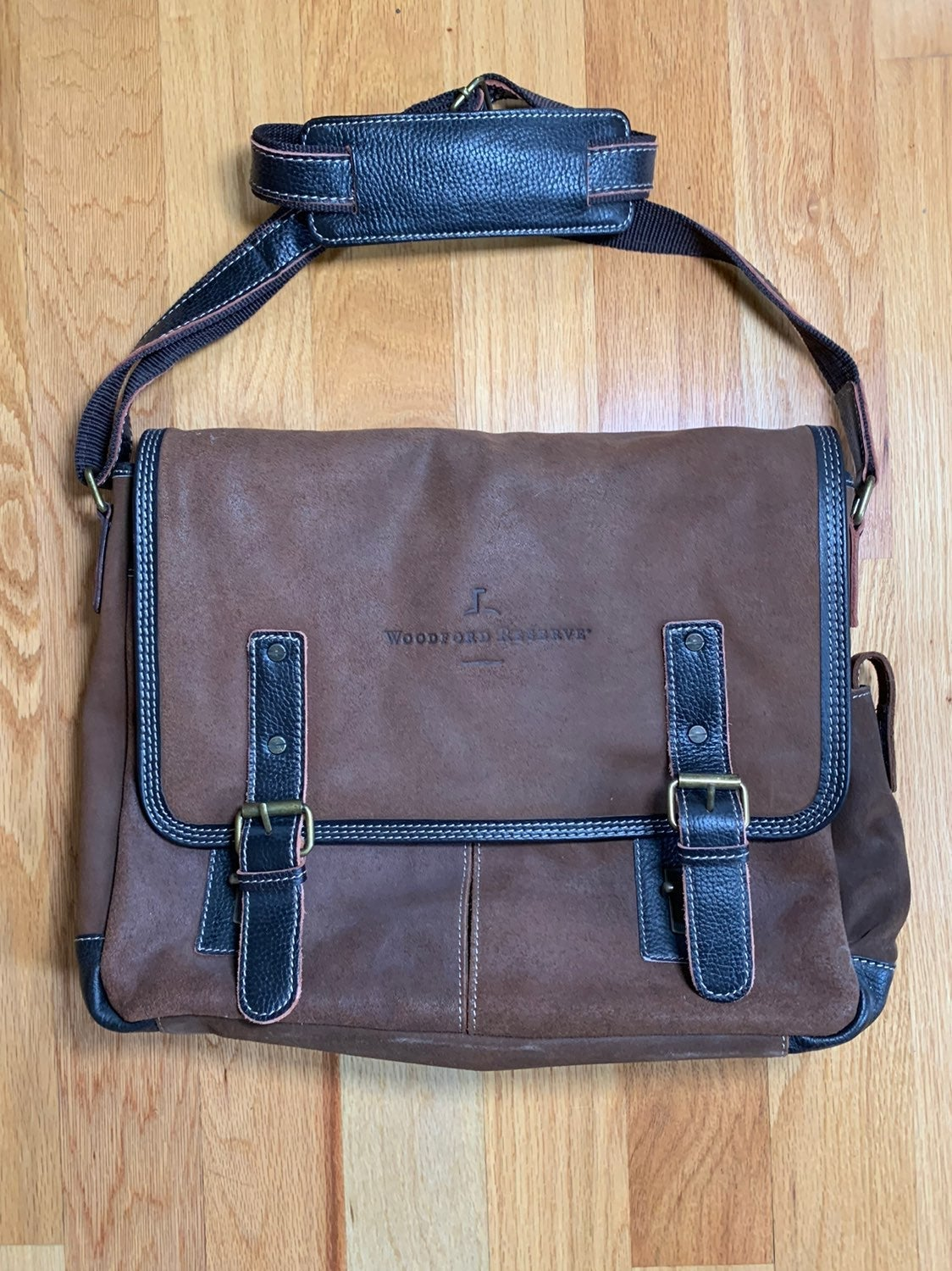 Bellino leather laptop bag
