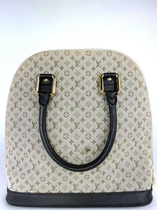 Louis Vuitton Alma Haut Mini Lin Khaki