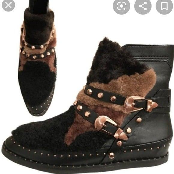 Ivy Kirzhner Antarctic Shearling boots