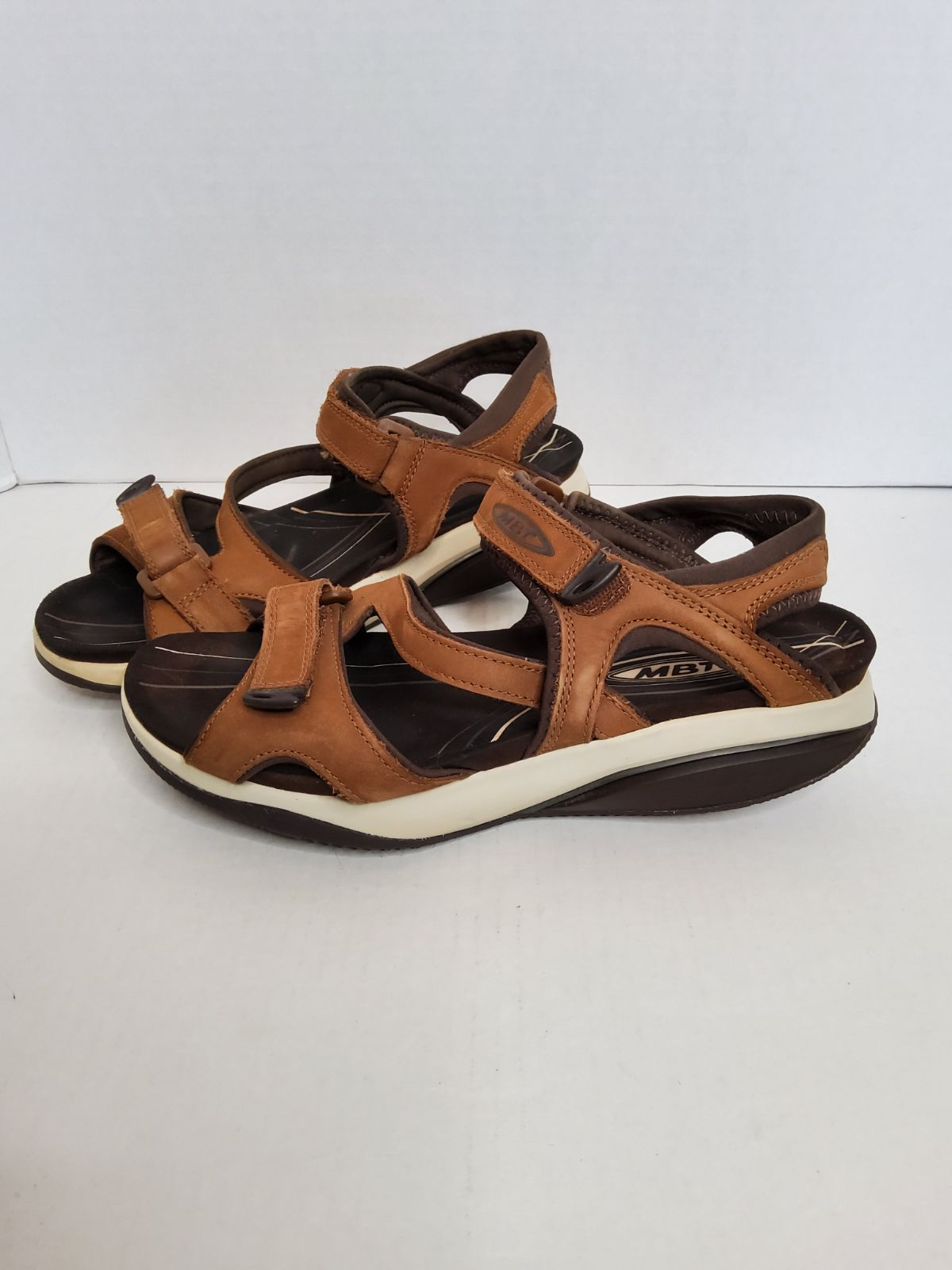 Womens MBT Strap Leather Sandals.