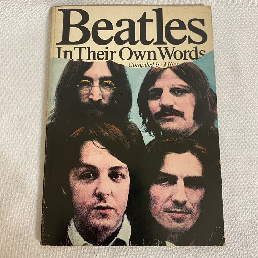 The Beatles In Their Own Words Book