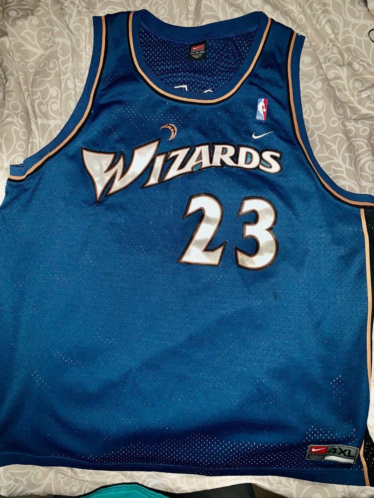 (Final Game) Michael Jordan Wizards Jers