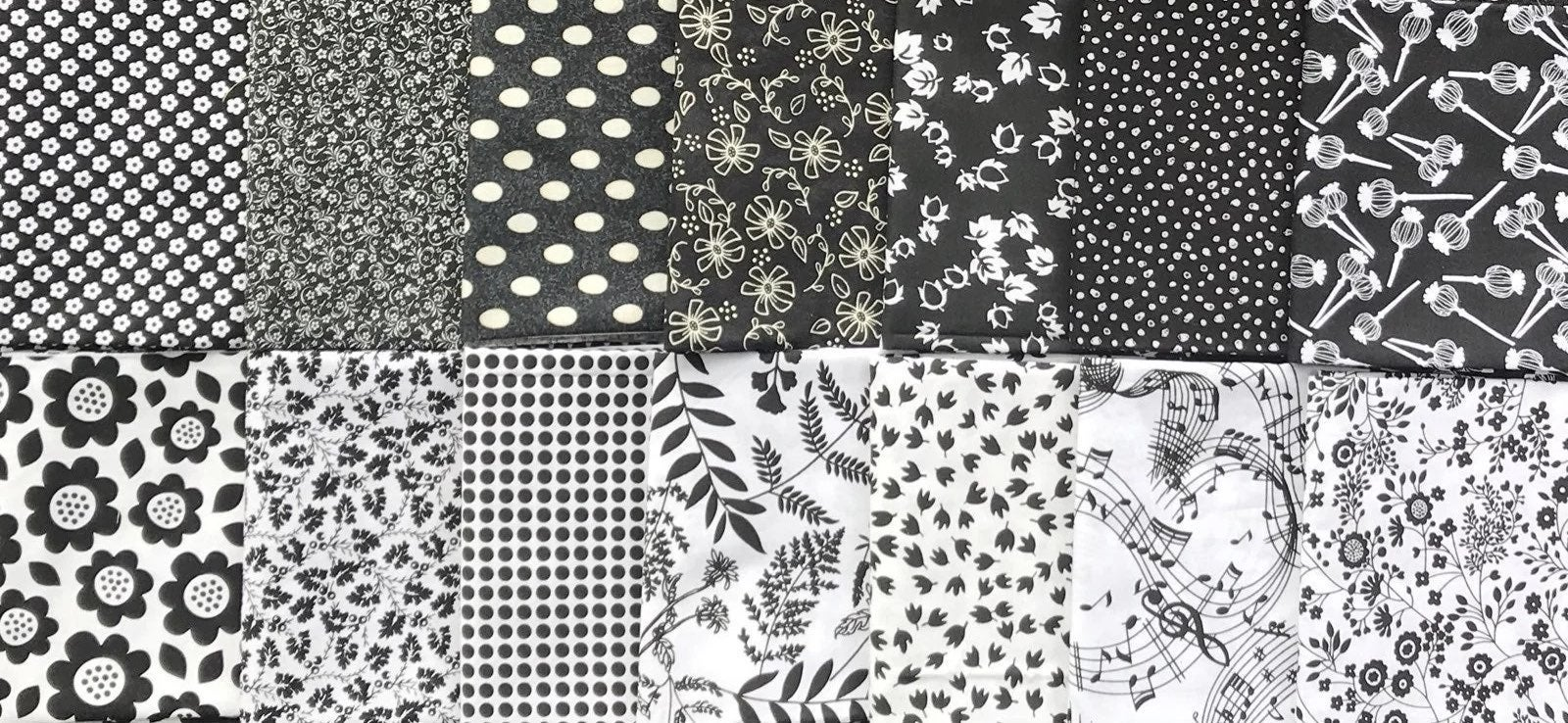 14 Printed Cotton FQs *QCS PROMO SALE !*