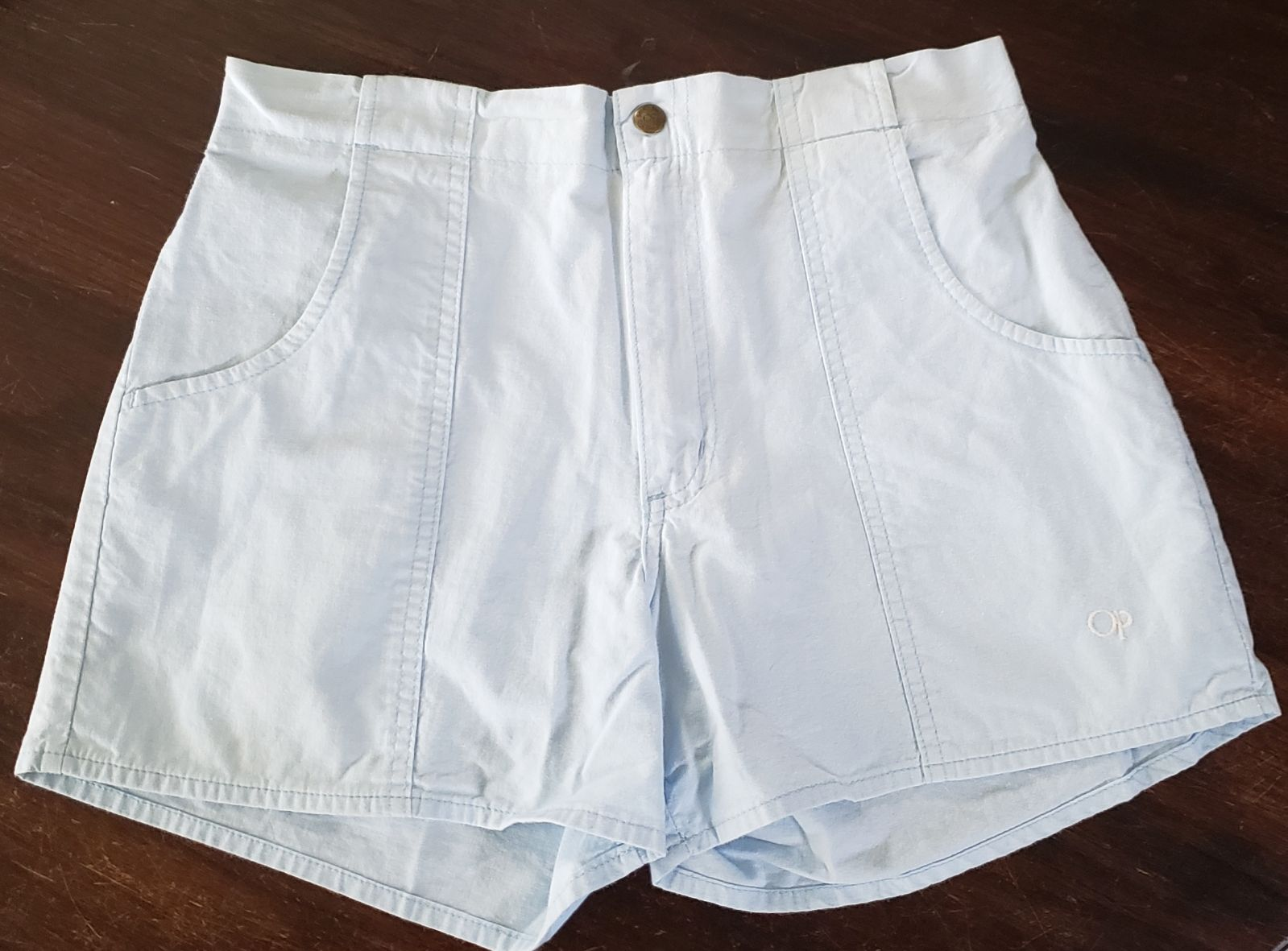 VINTAGE OP SHORTS 80's above the knee
