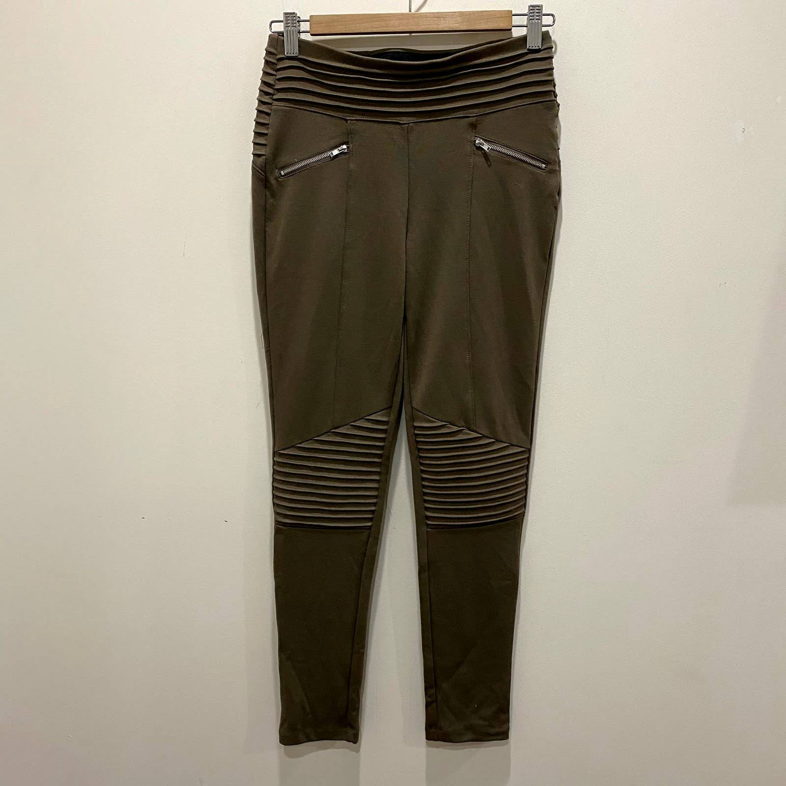 Have Taupe Tan Moto Leggings Size Small