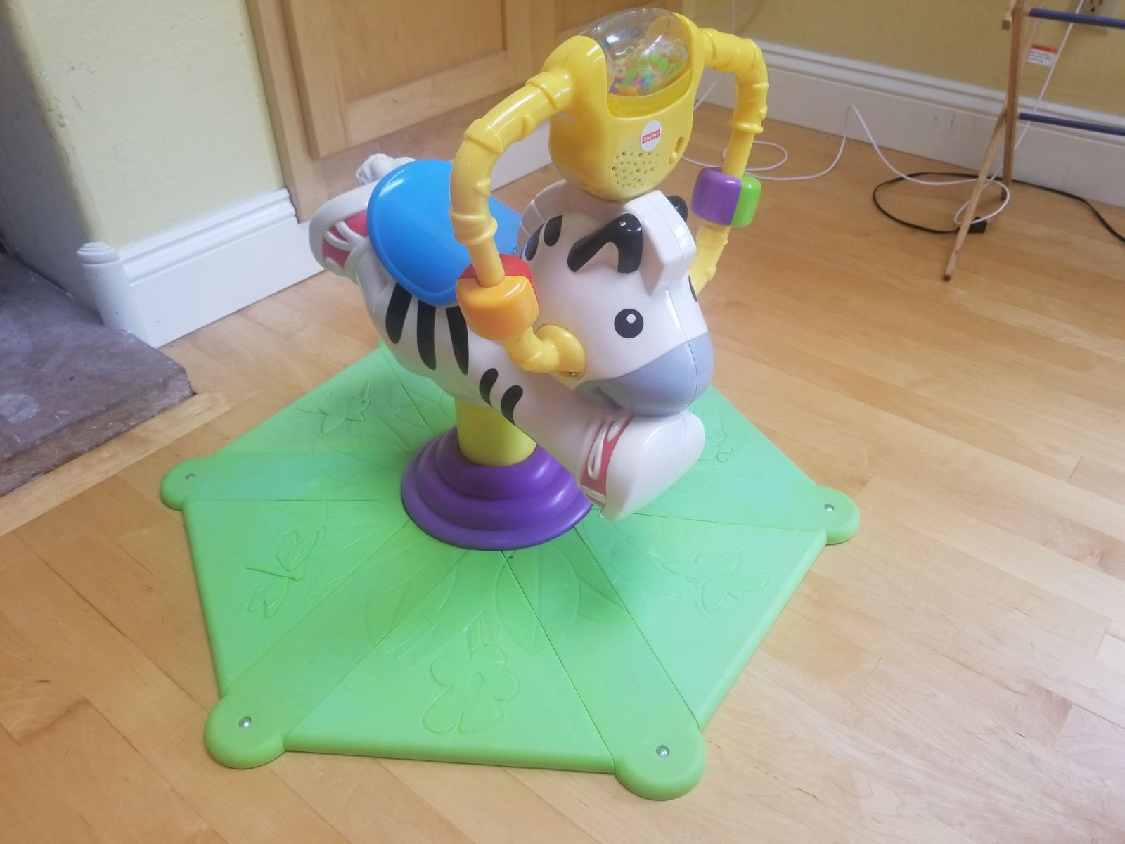 Go Baby Go! Bounce And Spin Zebra