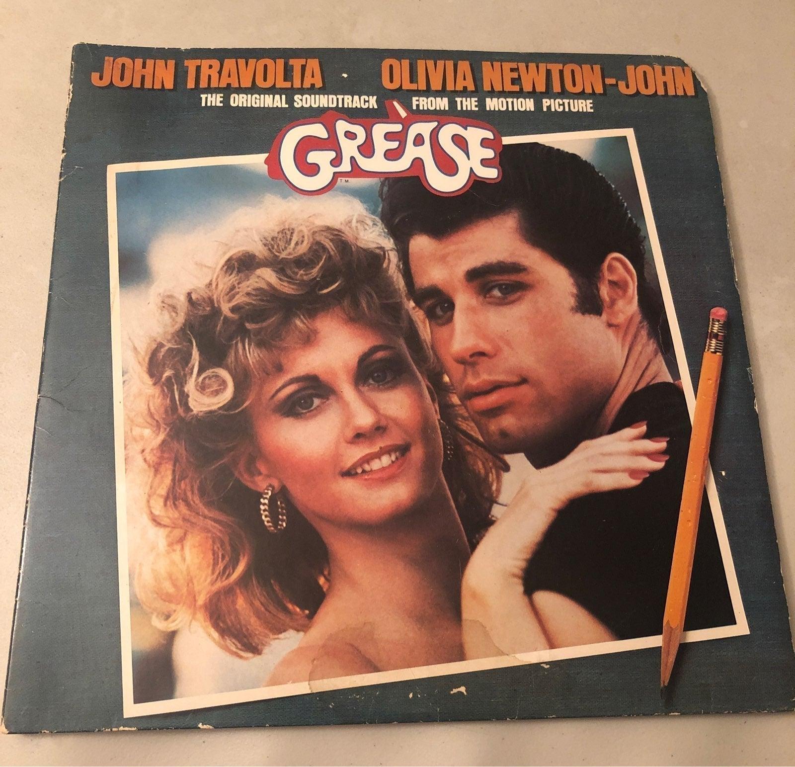 Vintage Grease vinyl