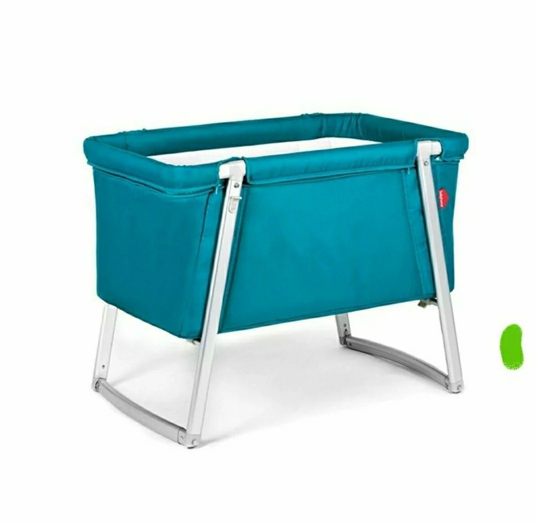 Babyhome Dream Bassinet Turquoise - New
