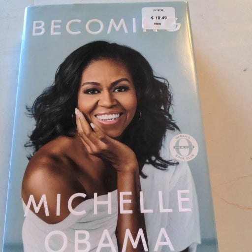 Becoming Michelle Obama hardcover book