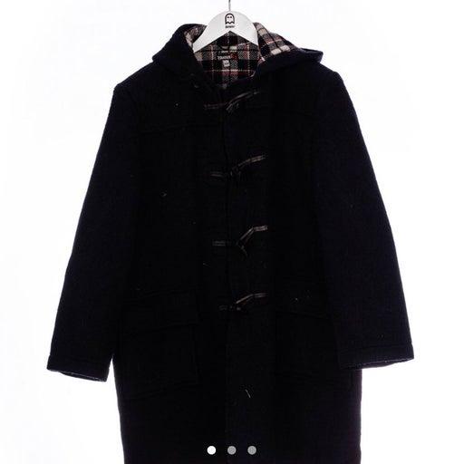 Vintage 3 Swiss Mantel Duffle Coat in Na