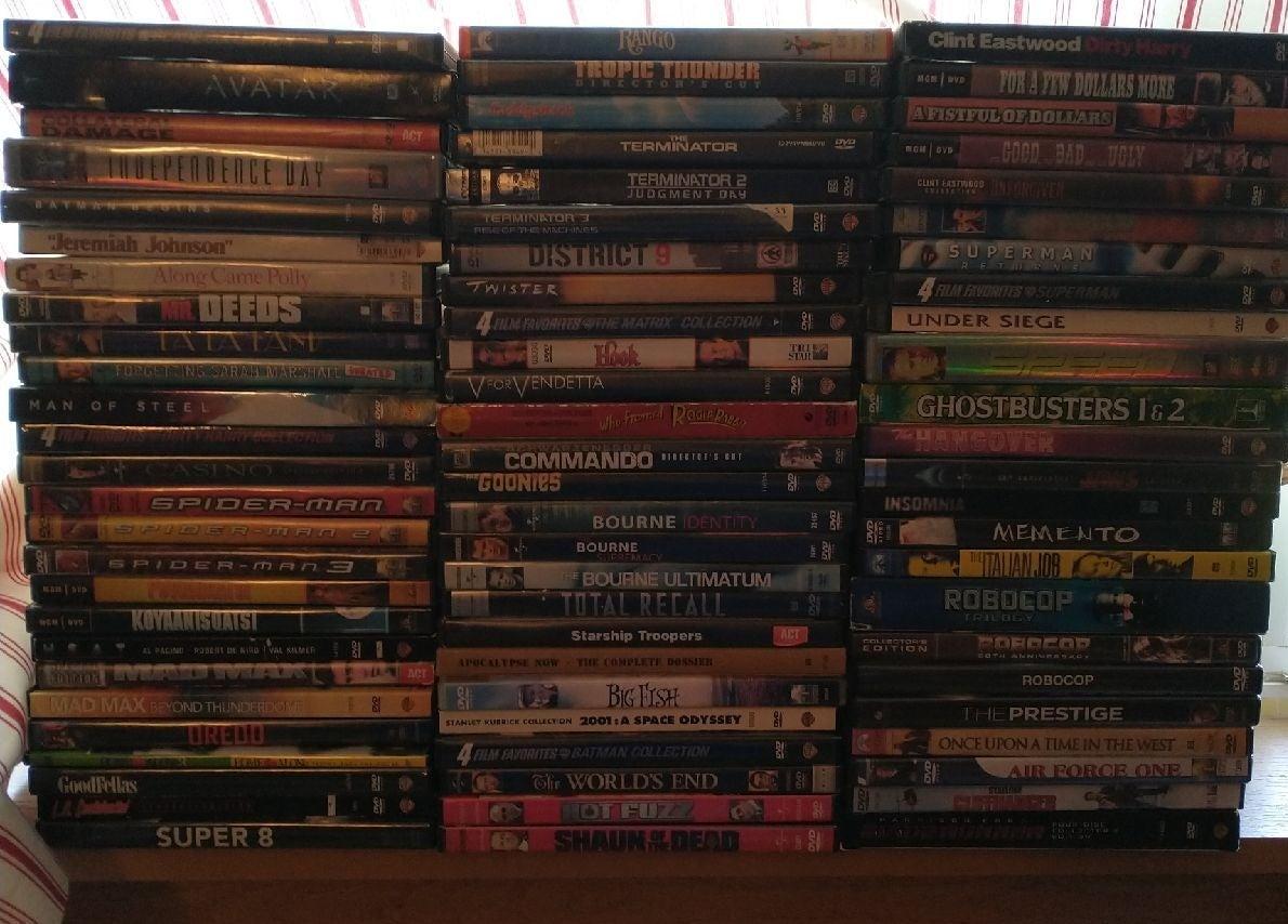 93 movies DVD lot bundle