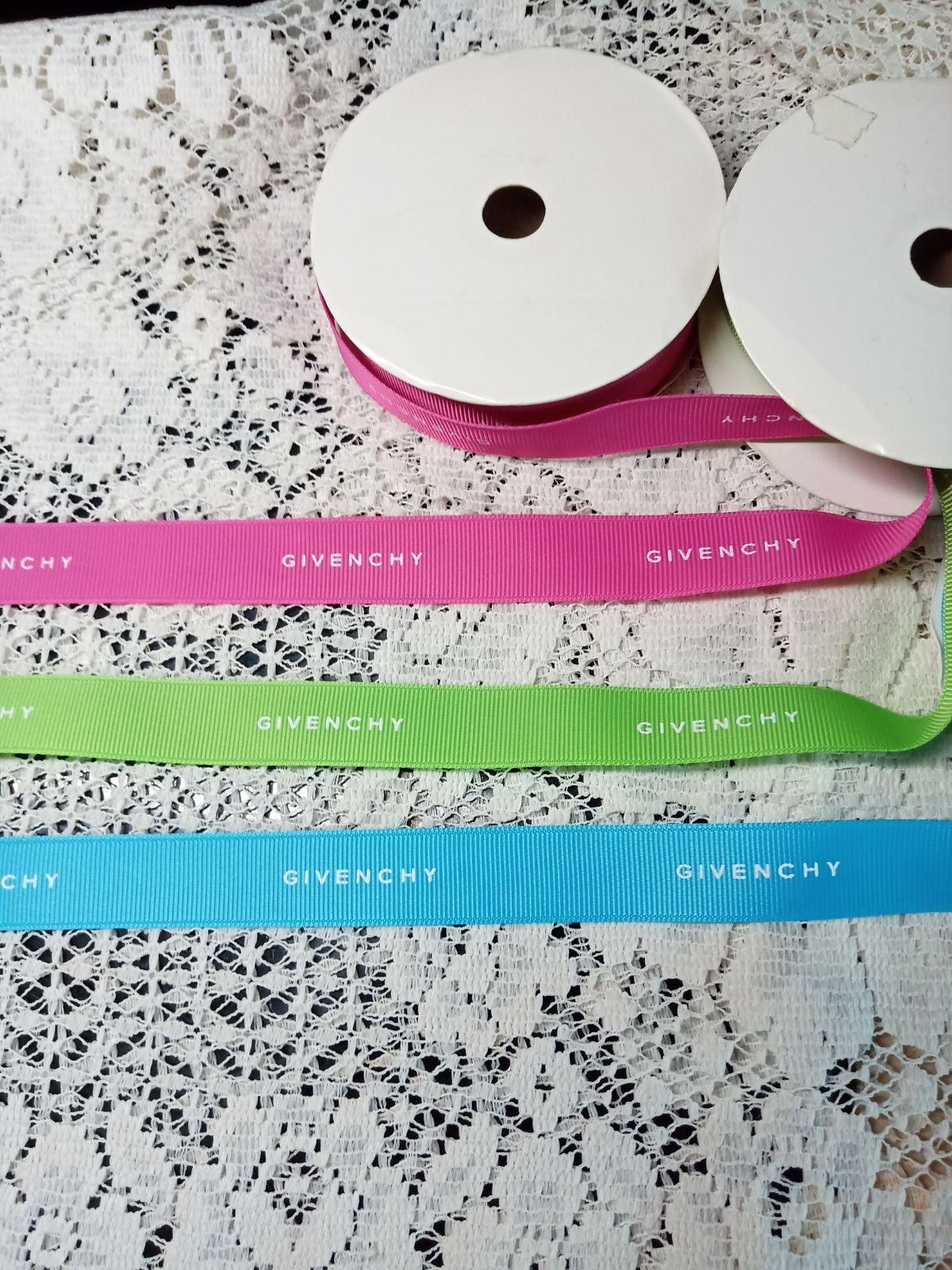 100% Authentic Givenchy Ribbon 1 Yard