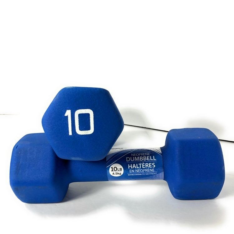 Set of 2 CAP 10LB Neoprene Dumbbells