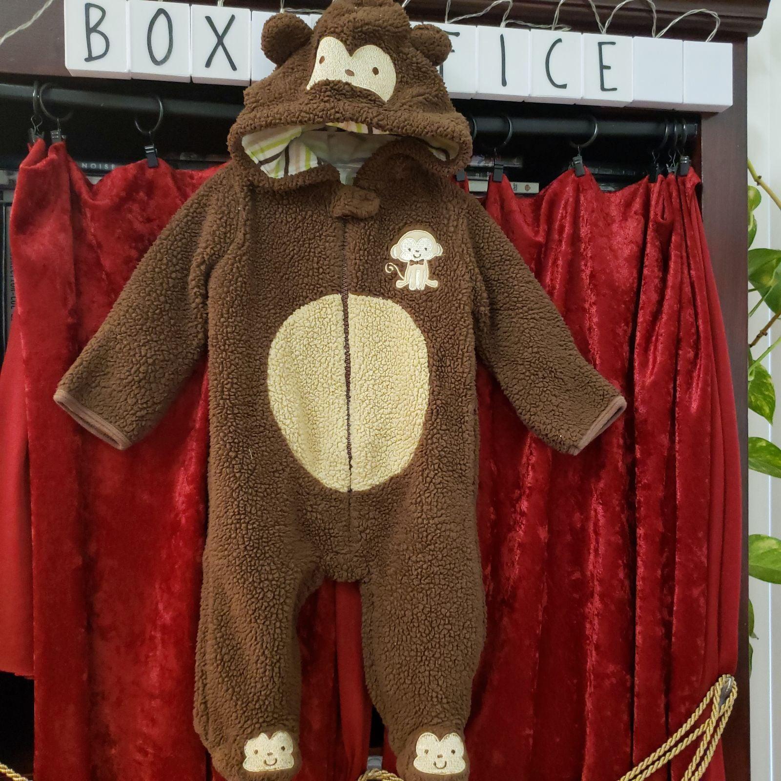 Baby Gear Monkey footie pajama costume