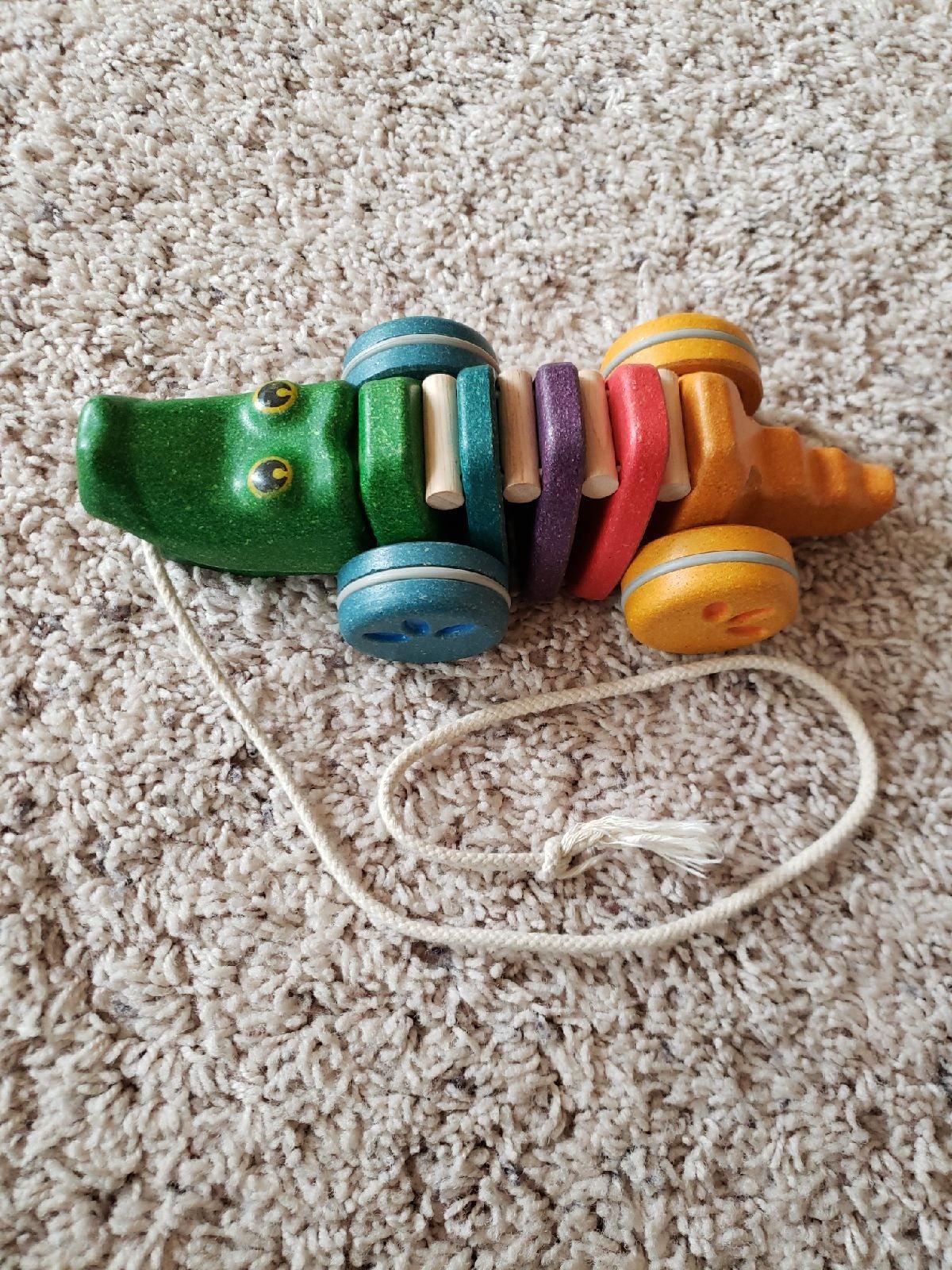 PlanToys Alligator Pull Toy