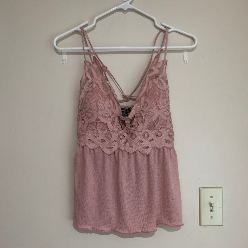 Brand new Lace flow tank top