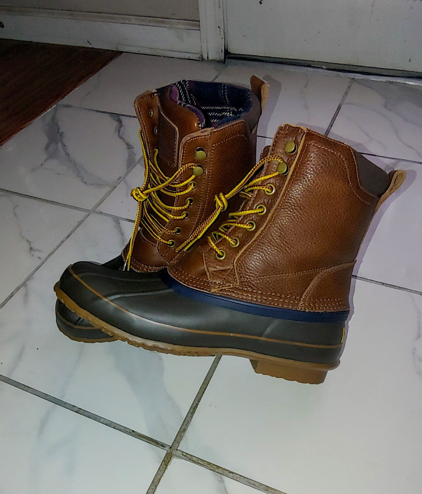 Brooks Brothers Duck Boots size 10