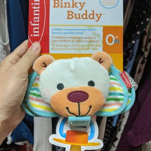 Binky Buddy - Bear