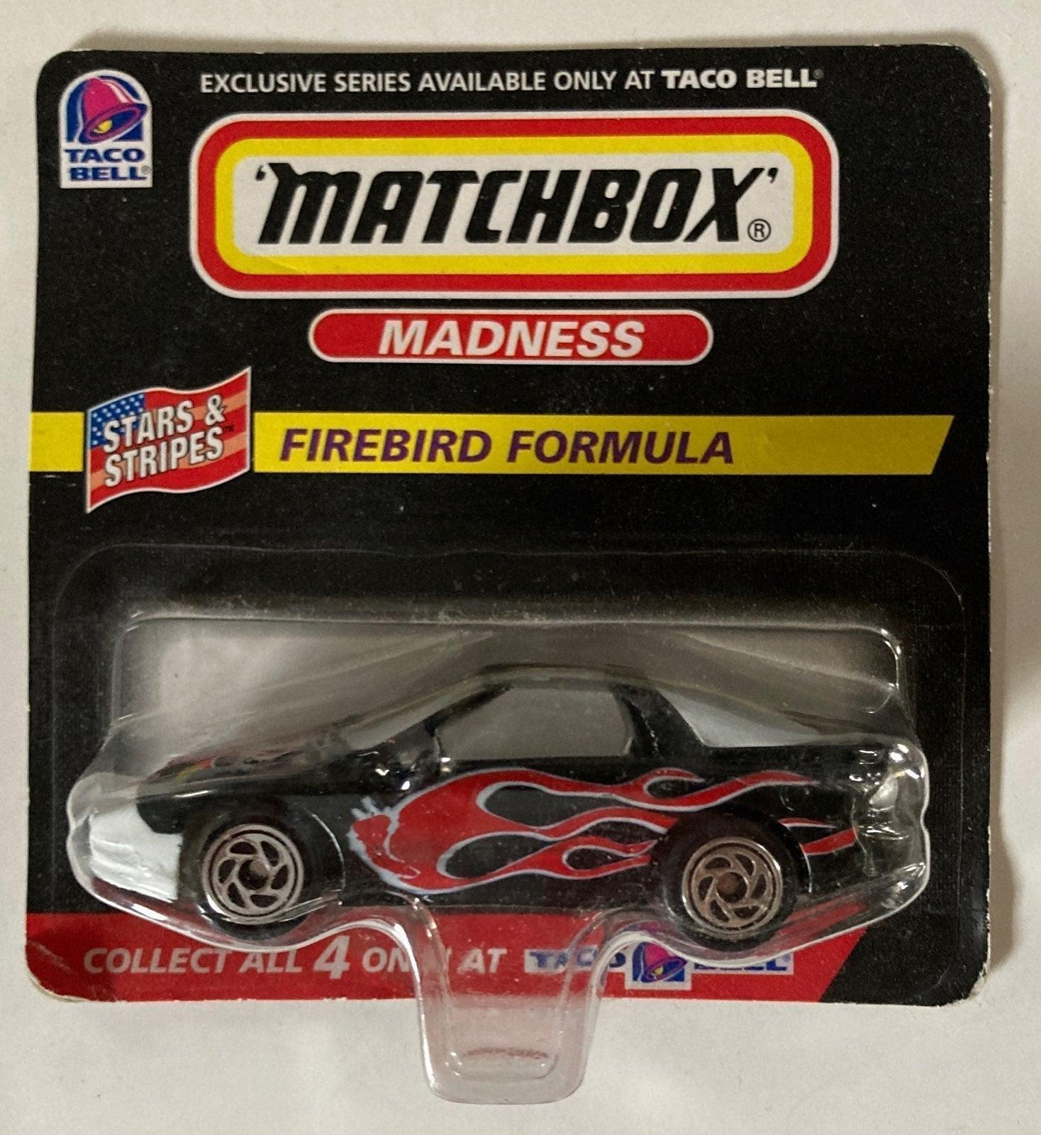 Taco Bell Matchbox vintage