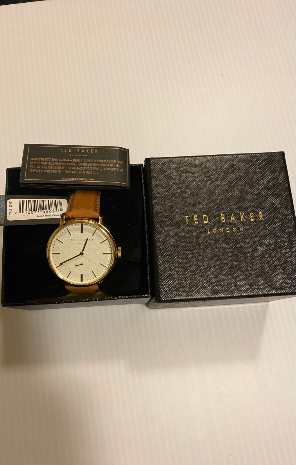 Original TED BAKER Watch London