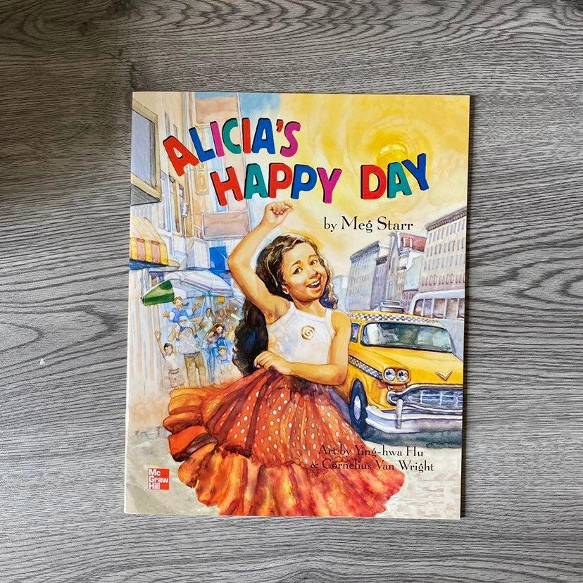 Alicia's Happy Day. Children's Book