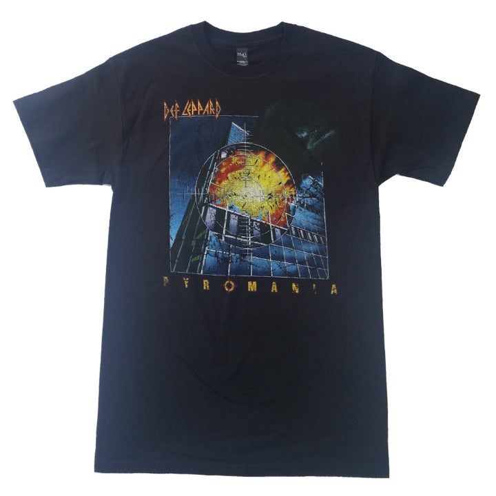 Def Leppard Pyromania Rock T Shirt M