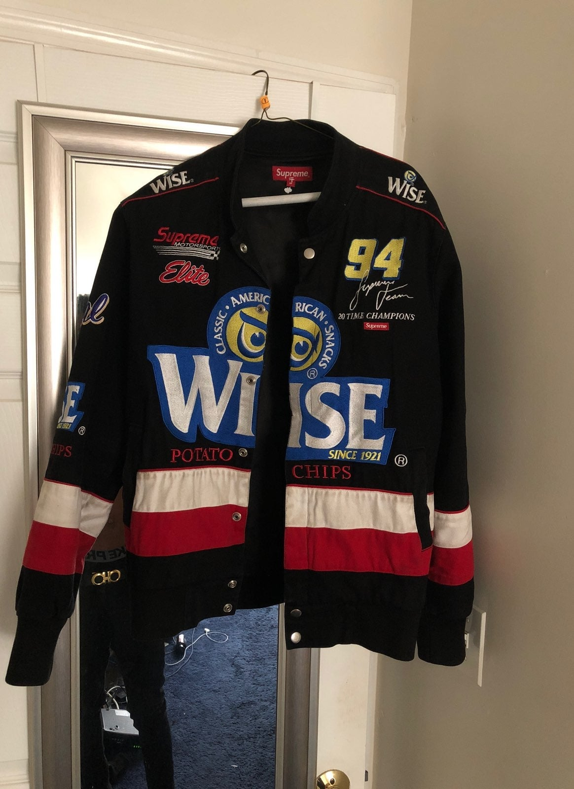 Supreme Wise Race Jacket