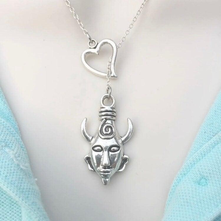 Supernatural Samulet Lariat Y Necklace.