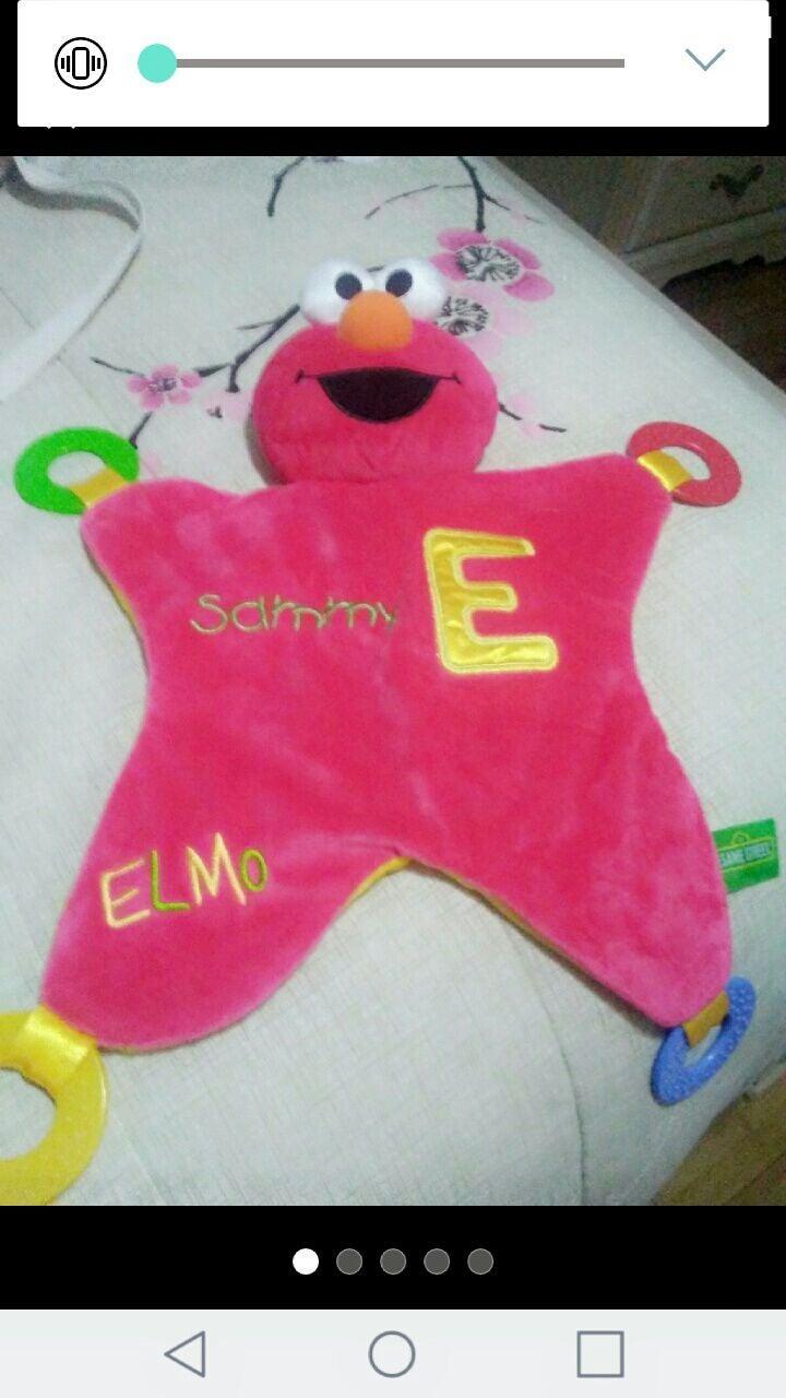 Sesame Street Elmo Little Blanket