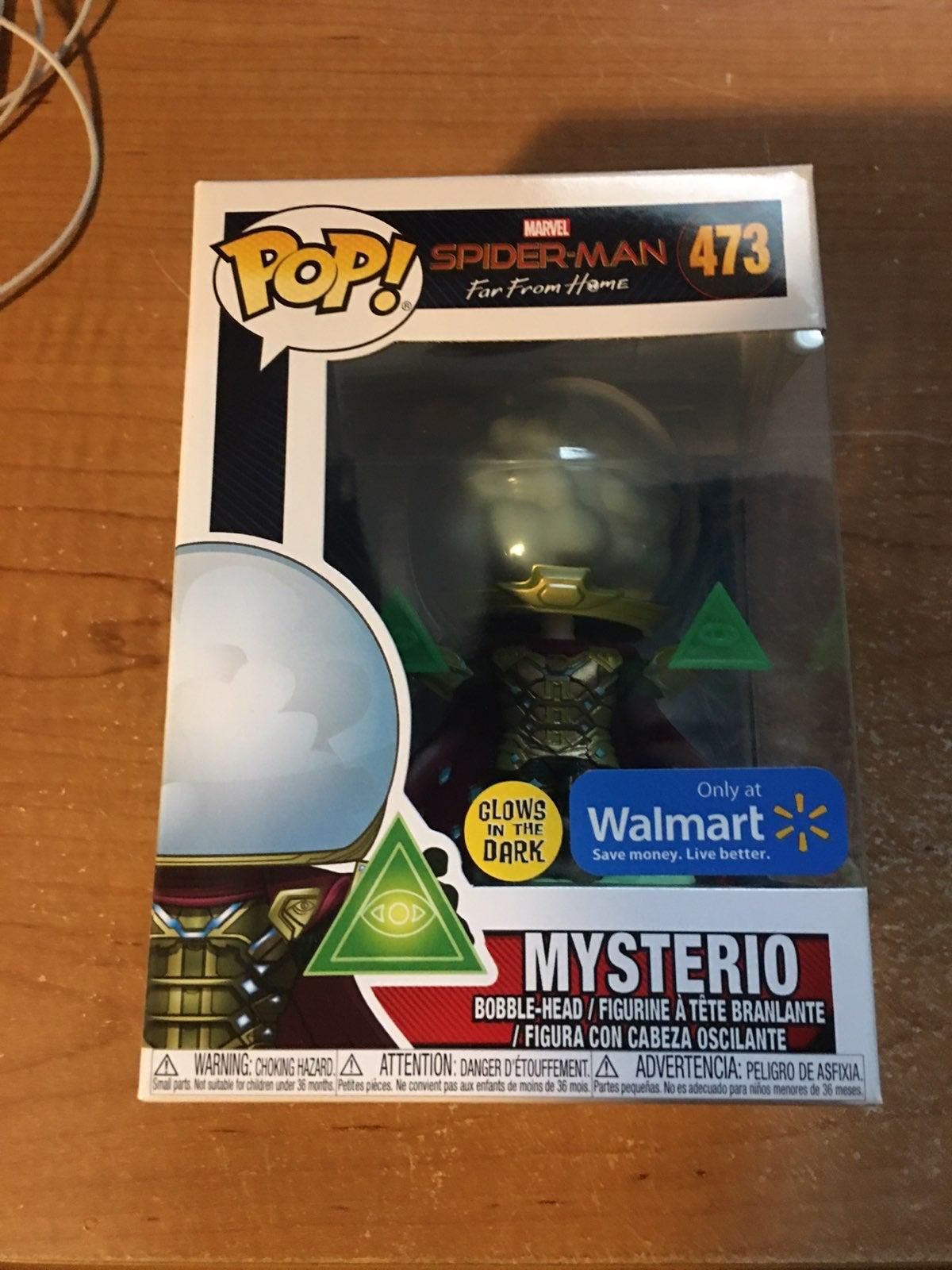 Walmart Exclusive Mysterio Funko Pop