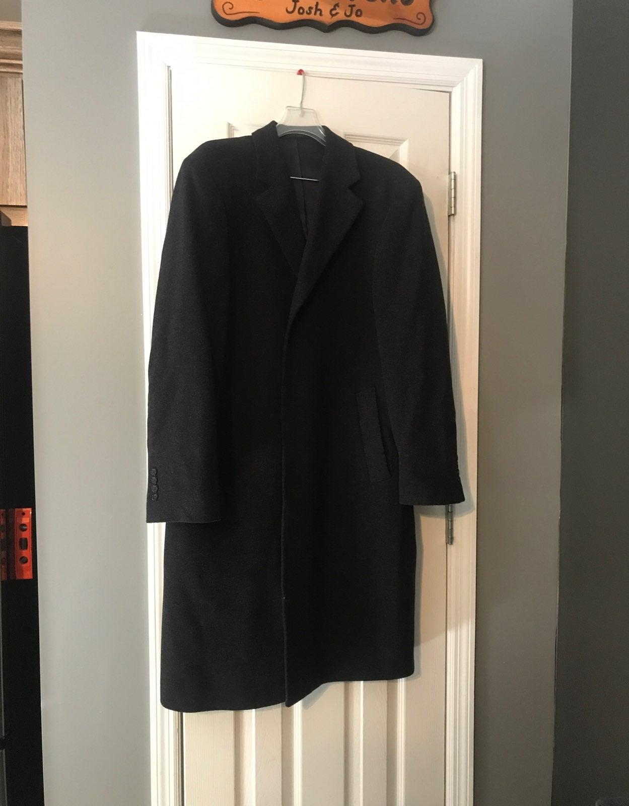 Mens wool dress jacket/coat